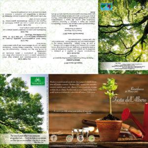 Programma Festa dell'albero Codognè